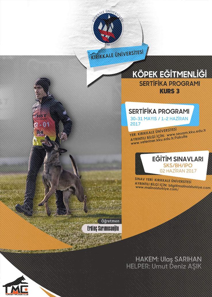 Köpek Eğitmenliği Sertifika Programı